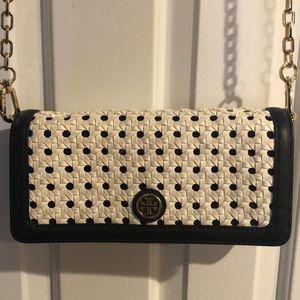 Tory Burch Basket-weave purse